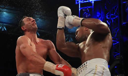 Joshua vs Klitschko Photo