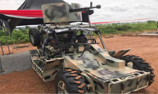 Fabricated Patrol Vehicles