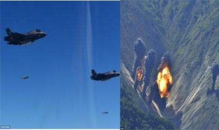 US, N.Korea Bomb Photo