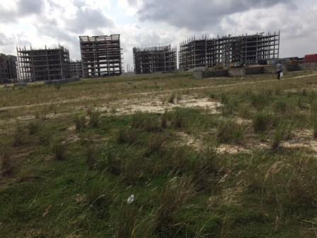 Housing estate under construction in Ilubirin