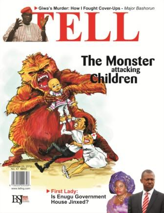 The Monster Attacking Children