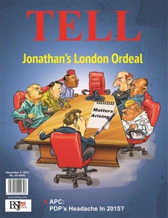 Jonathan's London Ordeal