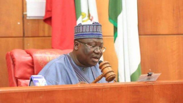 Ahmed Lawan, Senate president,