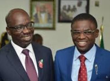 Obaseki and Shaibu Photo