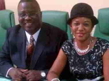 Late Zakawanu Garuba and his widow Photo