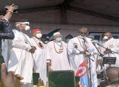 Photo from APC Edo Governorship Campaign Flag off