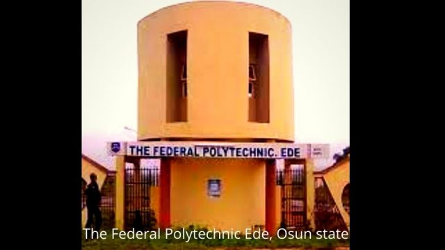 The Federal Polytechnic Ede, Osun state Photo
