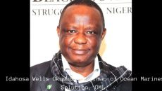Idahosa Wells Okunbo, Chairman of Ocean Marines Solution, OML, Photo