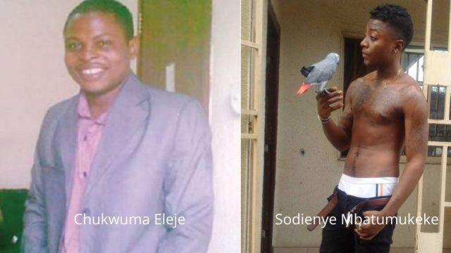 Chukwuma Eleje and Sodienye Mbatumukeke Photo