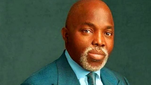 Amaju Pinnick , President of the Nigerian Football Federation ,NFF photo
