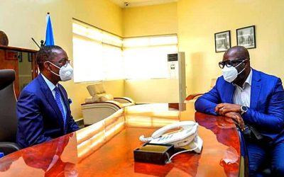 Ifeanyi Okowa and Godwin Obaseki Photo