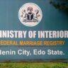 the Benin Federal Marriage Registry
