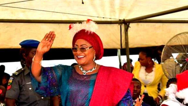 Kafayat Oyetola, wife of the governor of Osun State