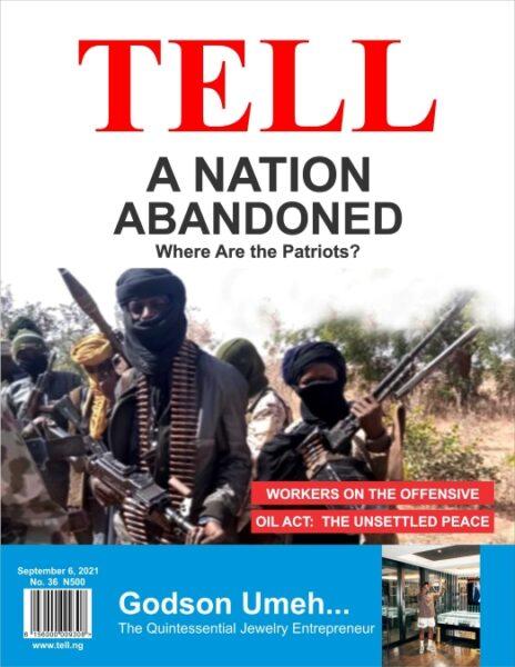 Tell Magazine Cover Design